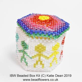 IBW Beaded Box Kit, Katie Dean, Beadflowers
