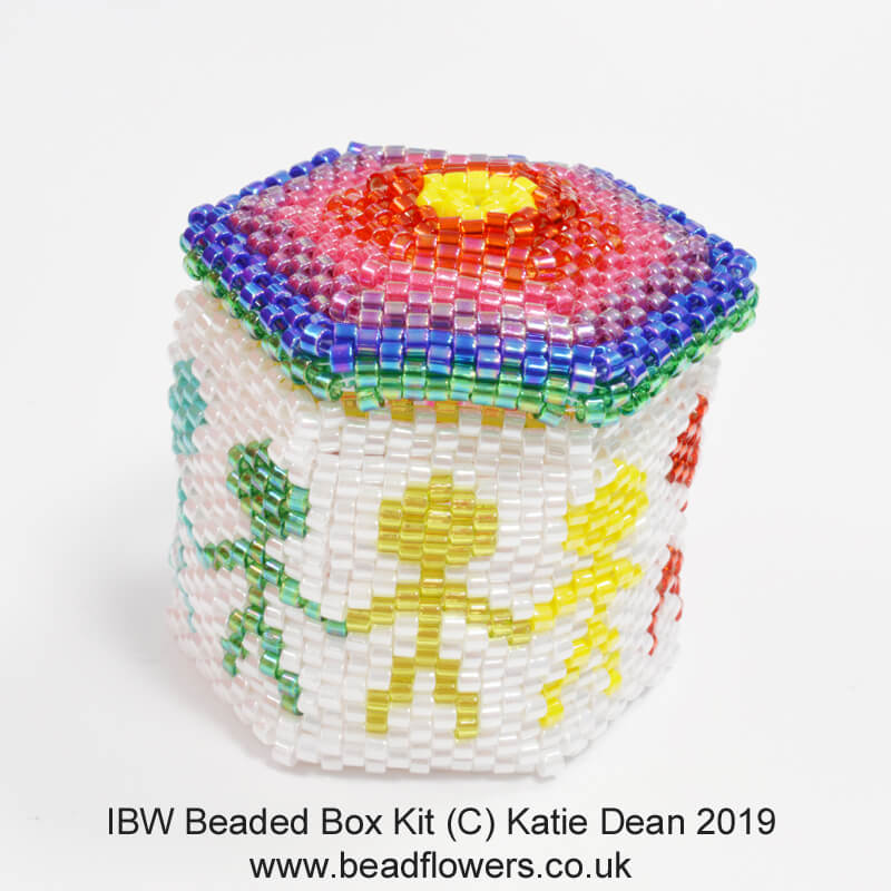IBW Beaded Box Kit, Katie Dean, Beadflowers