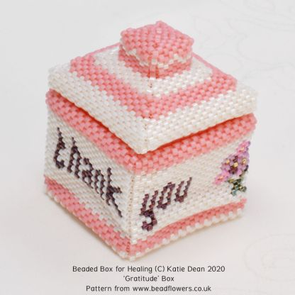 Thank you box, Katie Dean, Beadflowers