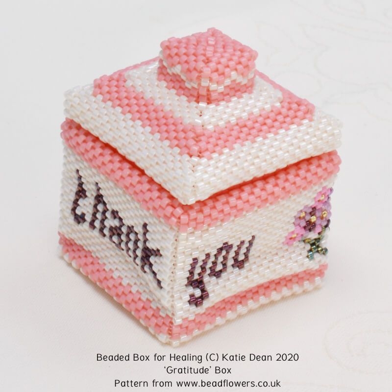 Thank you box, Katie Dean, Beadflowers