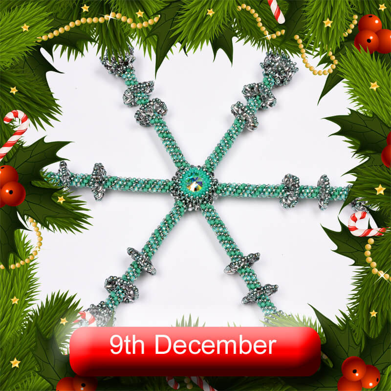 Beadflowers Advent Extravaganza, 9th December 2020