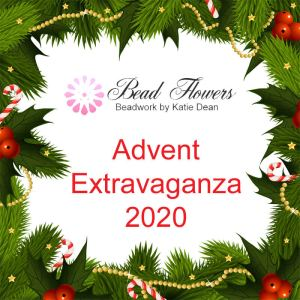 Beadflowers Advent extravaganza, 2020, with Katie Dean