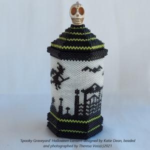 Theresa Voss Halloween Lantern designed by Katie Dean