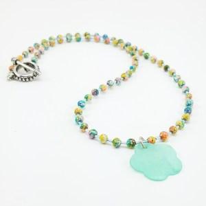 Mint Medley necklace