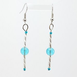 ice crystals earrings