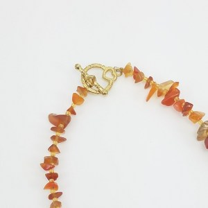 golden sunset necklace
