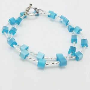heavenly blue necklace
