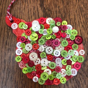 Bauble Button Mosaic