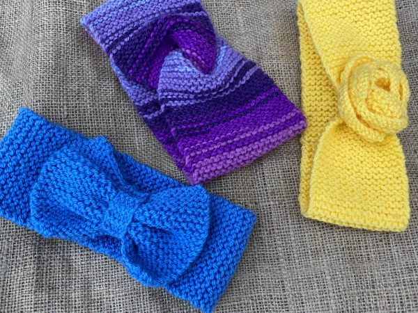 knitted headband group