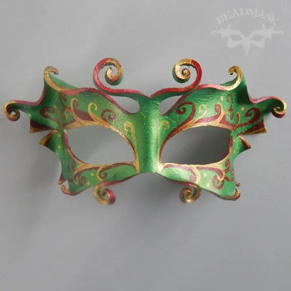 fairy leather mask