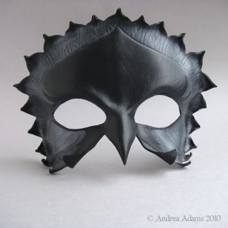 Jackdaw Leather Mask