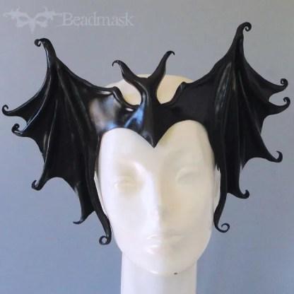 Leather Bat Crown