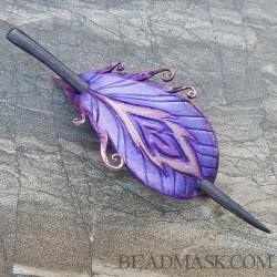 purple-peacock-barrette3