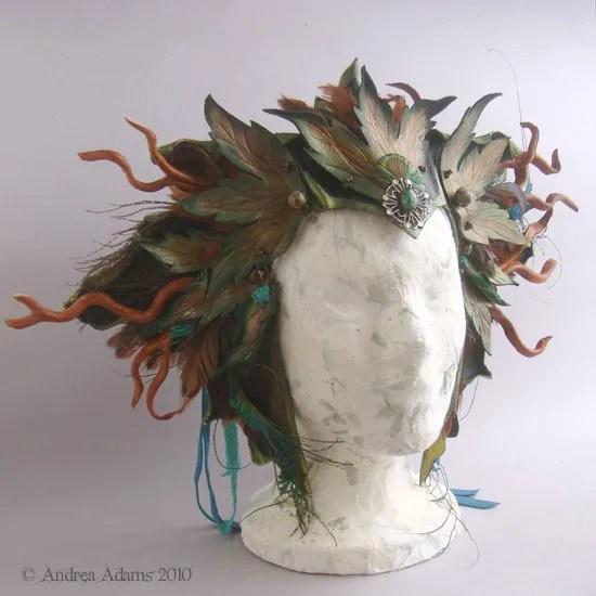 Roots & Wings Headpiece© 2010 Andrea Adams