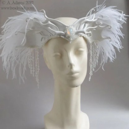 winter angel crown