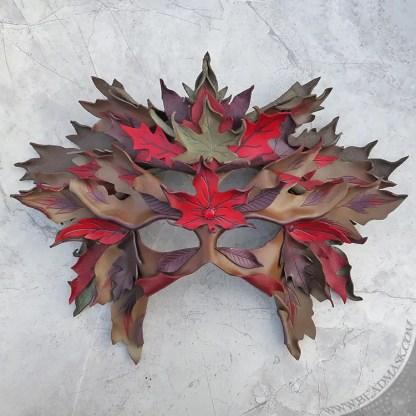 leather leaf mask