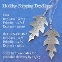 2018 winter holiday shipping deadlines