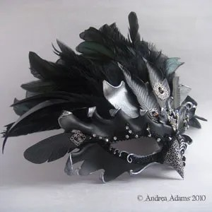 fantasy raven mask