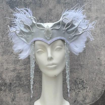 leather headpiece