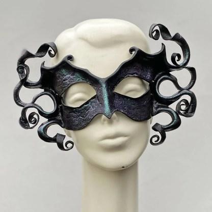leather gorgon mask