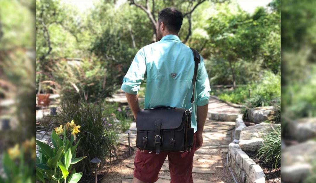 Best Leather Travel Laptop Bag