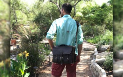 Best Leather Travel Laptop Bag