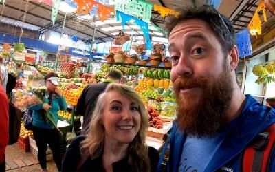 Adventures To Paloquemao Market In Bogotá Colombia