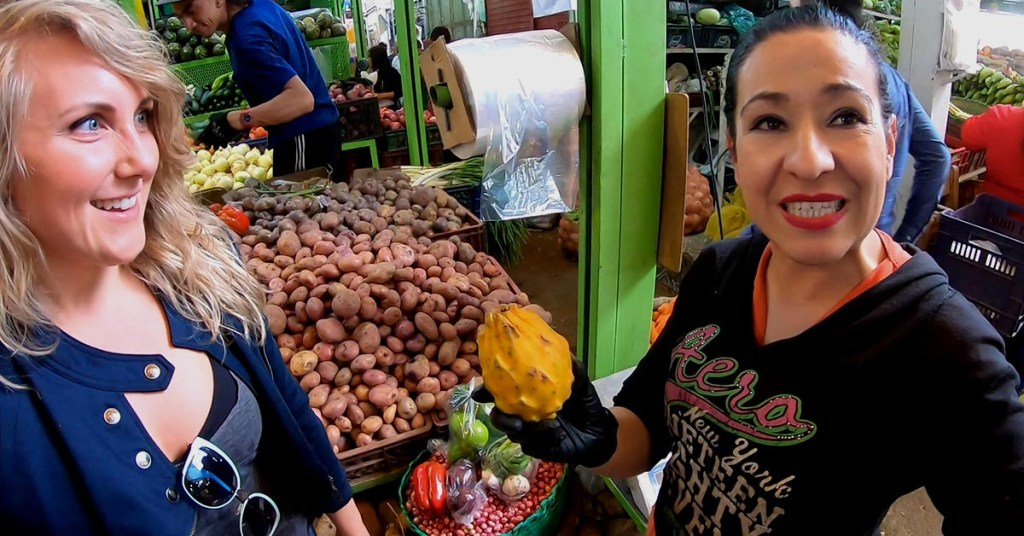 Adventures To Paloquemoa Market In Bogotá Colombia_People