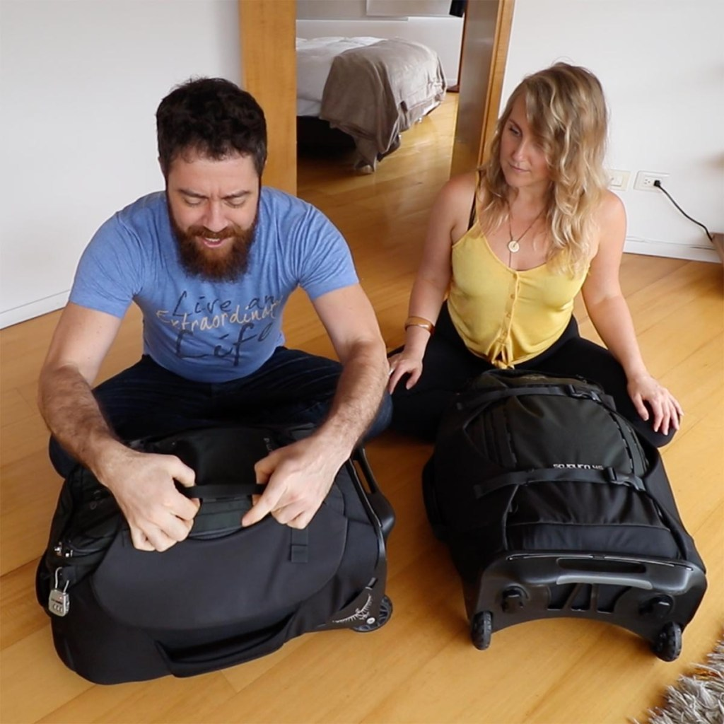 Osprey Sojourn 45L Review - Daisy Chain