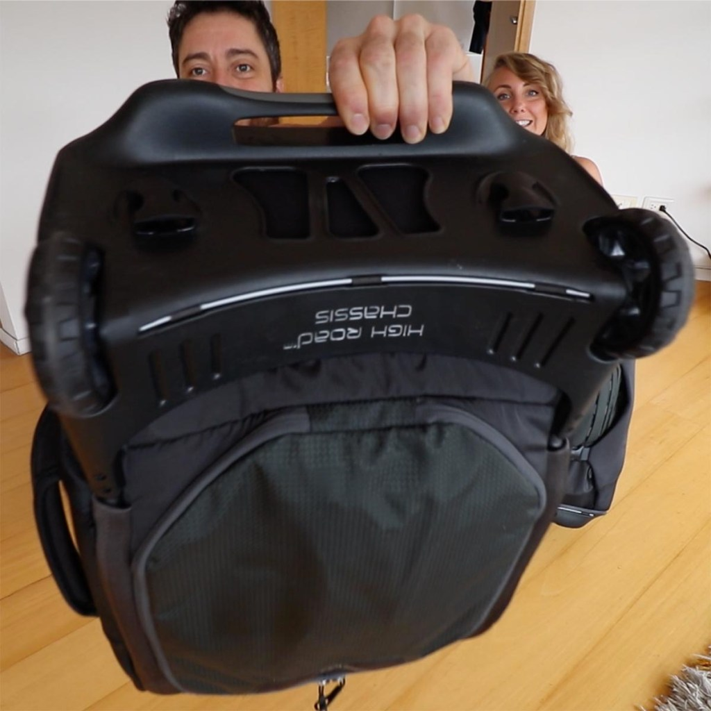Osprey Sojourn 45L Review - Wheels