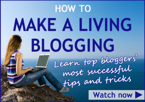 How to Make a Living Blogging - get free access to the interview library