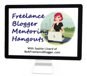 Be a Freelance Blogger group mentoring hangouts