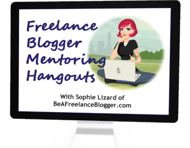 Live Mentoring Hangouts for Freelance Bloggers