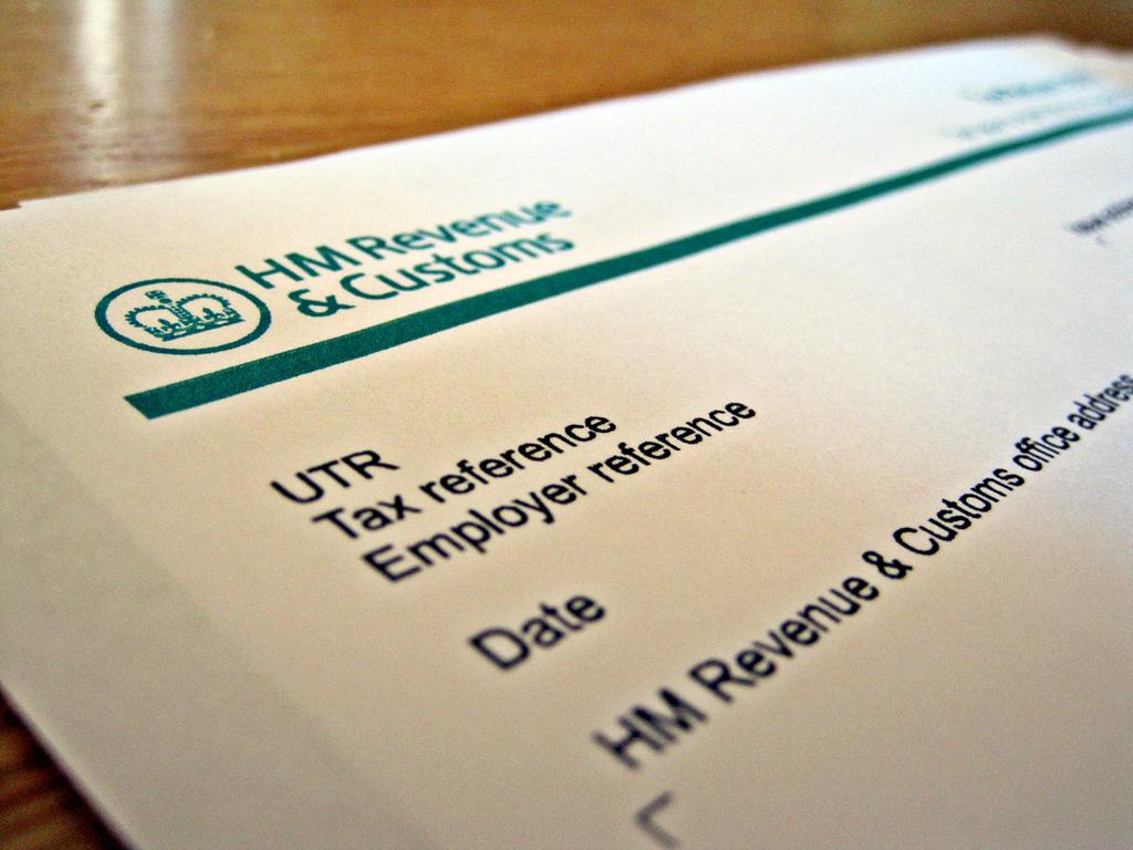 UK tax form