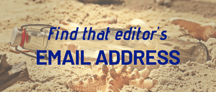 How to Find an Email Address for Any Blog Editor in Minutes