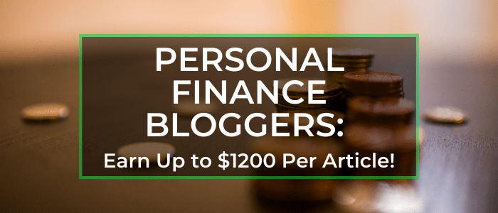 Money and Personal Finance Blogging: Try These Blogs for Paid Freelance Writing Jobs