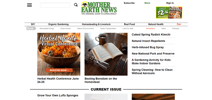 Mother Earth News hires freelance writers for science writing gigs