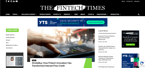 The Fintech Times hires writers for freelance tech writing gigs