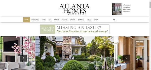 Atlanta Homes and Lifestyles Magazine and site pay writers for freelance design writing gigs.