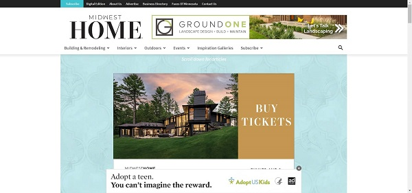 Midwest Home magazine hires freelance writers for design writing jobs