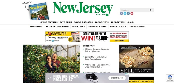 New Jersey Monthly magazine hires freelance writers for design writing gigs.