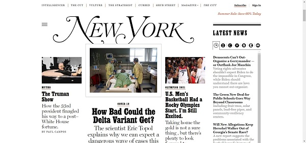 New York Magazine pays writers for freelance style and design writing jobs