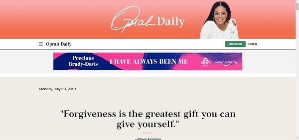 Oprah Daily hires writers for freelance style writing gigs