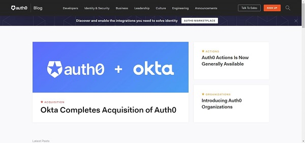 Auth0 blog hires writers for freelance tech writing gigs