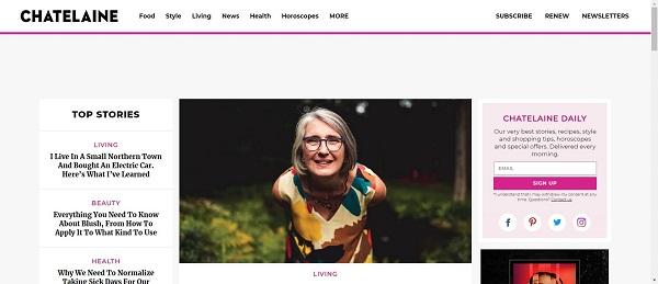 Chatelaine magazine and blog pay food writers for freelance writing gigs