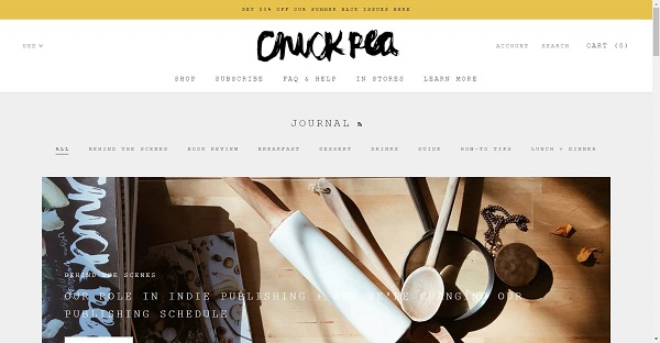 Chickpea magazine pays food writers for freelance writing jobs