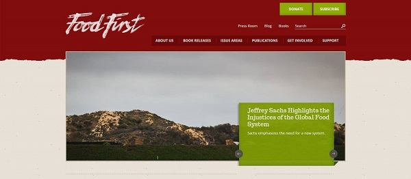 Food First blog hires freelance writers for food writing jobs