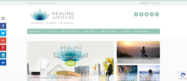 Healing Lifestyles blog pays food writers for freelance writing gigs