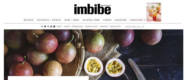 Imbibe Magazine and blog pay freelance writers for drink writing jobs