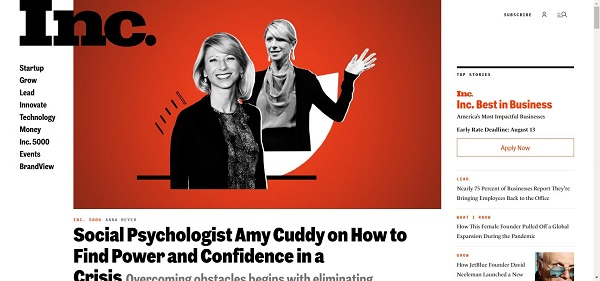 Inc Magazine pays writers for freelance tech writing jobs